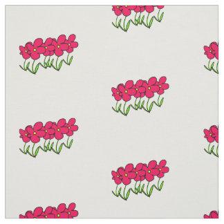 De roze bloemen van de bloemblaadjescartoon geel