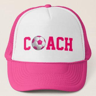 De roze Bus van het Voetbal Trucker Pet