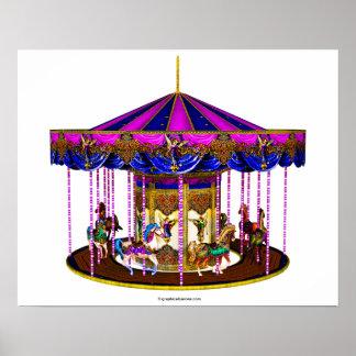 De roze Carrousel Plaat