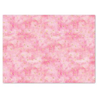 De roze Confettien van Hello van de Waterverf Tissuepapier