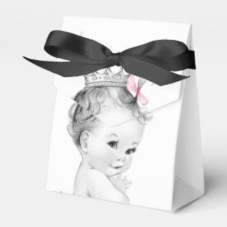 De roze Dozen van de Gunst van het Baby shower van Bedankdoosjes