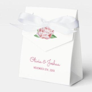 De roze Dozen van de Gunst van het Huwelijk van Bedankdoosjes