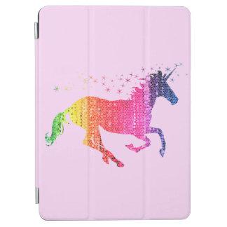 De Roze Eenhoorn van de regenboog iPad Air Cover