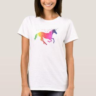 De Roze Eenhoorn van de regenboog T Shirt
