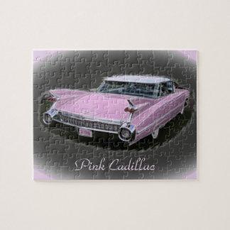 De roze Flits van Cadillac Puzzel