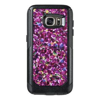 De roze Fonkelingen van het Lovertje OtterBox Samsung Galaxy S7 Hoesje