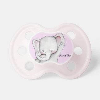 De Roze Fopspeen van de Olifant van het baby