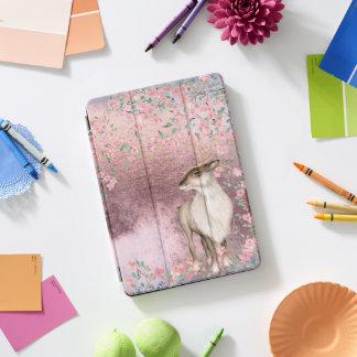 De roze Glanzende Vintage Bloesem van de Kers van iPad Pro Hoesje