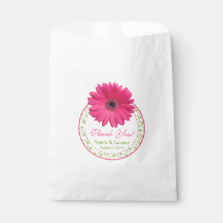 De roze Green Candy Buffet Wedding Gunst van Bedankzakje