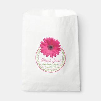 De roze Green Candy Buffet Wedding Gunst van Zakje 0