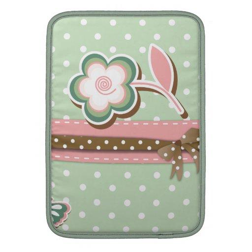 De roze, Groene & Bruine BloemenDekking van de
