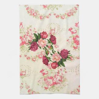 De roze Handdoek van de Keuken van Rozen