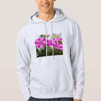 De roze Hartstocht van de Petunia Hoodie