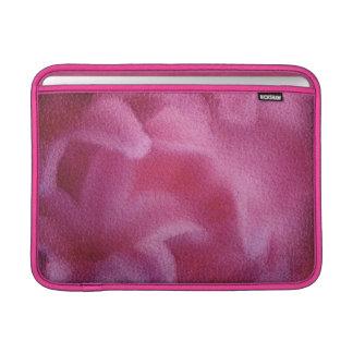 De roze het Schilderen van de bloem van de Lelie MacBook Air Beschermhoes