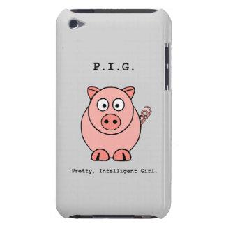 De roze Humor van het Varken iPod Touch Hoesje