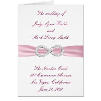 De roze Kaart van het Programma van het Huwelijk