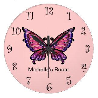 De roze Klokken van de Vlinder Girly