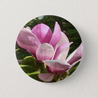 De roze Knoop van de Bloem van de Magnolia Ronde Button 5,7 Cm