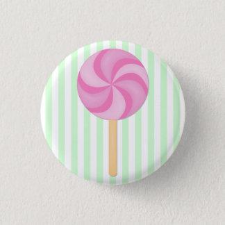 De roze Knoop van de Lolly Ronde Button 3,2 Cm