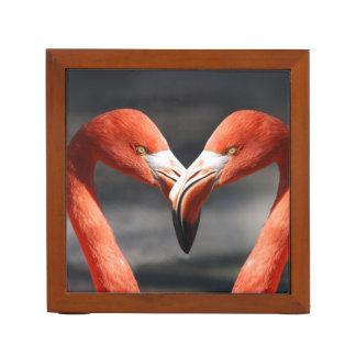 De roze Liefde van de Flamingo Pennenhouder