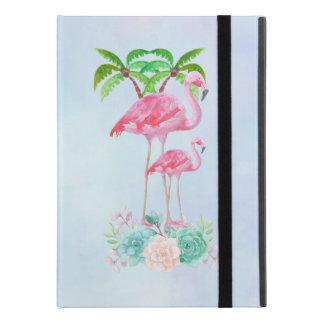 De roze Mamma's & het Baby van de Flamingo met iPad Pro 9.7 Inch Hoesje