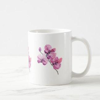 De roze Mok van Orchideeën
