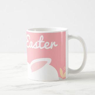 De roze Mok van Pasen van het Konijntje