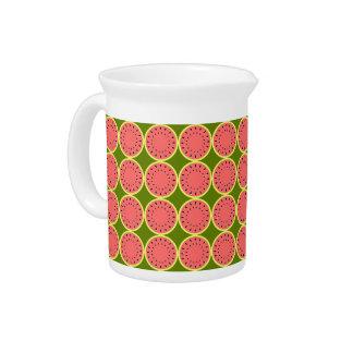 De Roze Multiwaterkruik van de watermeloen Pitcher