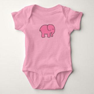 De Roze Olifant van het baby Romper