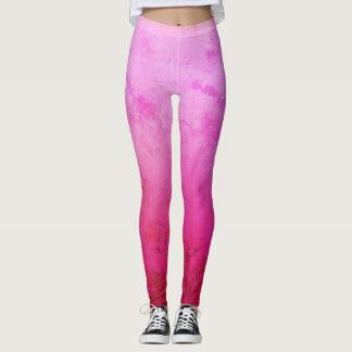De roze, Paarse, Gelukkige Beenkappen van de Leggings