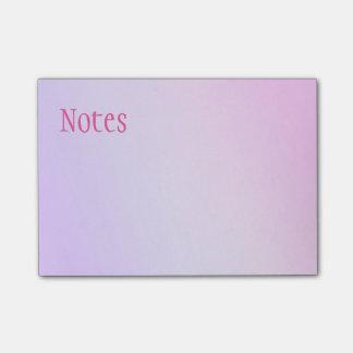 De roze & Paarse Nota's van de Post-it Post-it® Notes