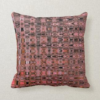 De Roze Perzik van de Zalm van Boho van de Zigzag Sierkussen