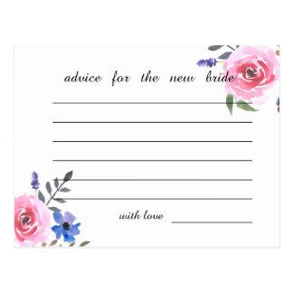 De roze Raad van het Vrijgezellenfeest van de Briefkaart