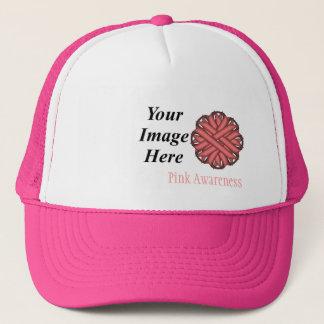 De roze Sjabloon van het Lint van de Bloem door Trucker Pet
