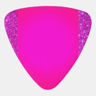 De roze Sparkly Hete Roze Oogst van de Gitaar van Gitaar Plectrums 0