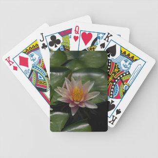 De roze Speelkaart van Waterlily Lotus Pak Kaarten