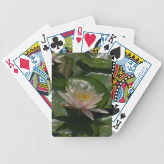 De roze Speelkaarten van Waterlilies Lotus Pak Kaarten