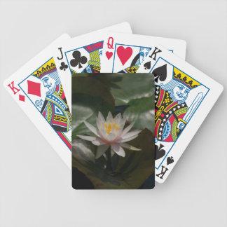 De roze Speelkaarten van Waterlily Lotus Pak Kaarten