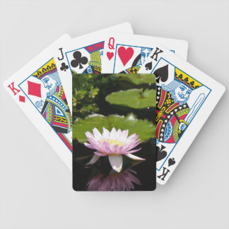 De roze Speelkaarten van Waterlily Lotus Poker Kaarten