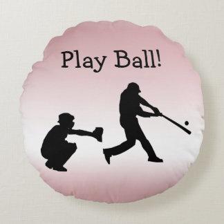 De roze Sporten van het Honkbal van de Bal van het Rond Kussen