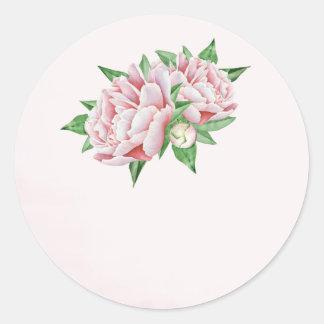 De roze Stickers van de Gunst van het Huwelijk van