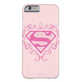 De Roze Strepen van Supergirl Barely There iPhone 6 Hoesje