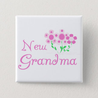 De roze T-shirts en de Giften van de Oma van Vierkante Button 5,1 Cm