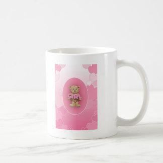 De roze Teddybeer van het Meisje Koffiemok