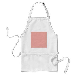 De roze Textuur van het Leer Standaard Schort