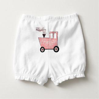 De Roze Trein Caboose van het baby Luierbroekje