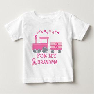 De Roze Trein van Kanker van de borst voor Mijn Baby T Shirts