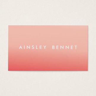 De roze Visitekaartjes van de Waterverf Ombre