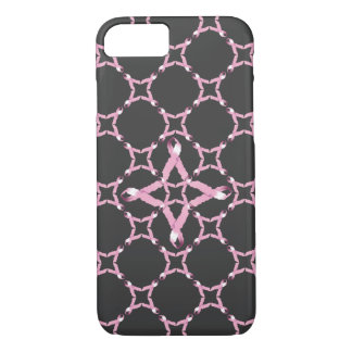 De roze Voorlichting van Kanker van de Borst van iPhone 8/7 Hoesje