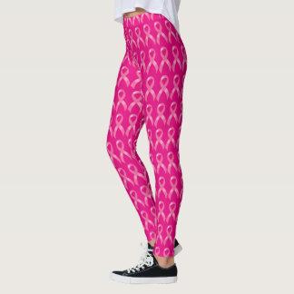 De roze Voorlichting van Kanker van de Borst van Leggings